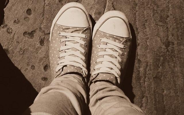 Eliminar el mal olor de pies.