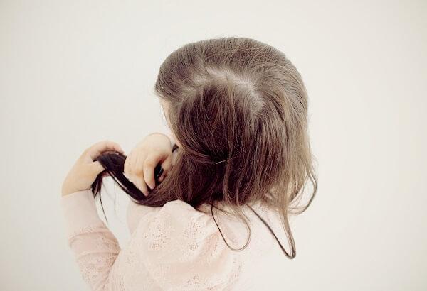cabello largo y bonito