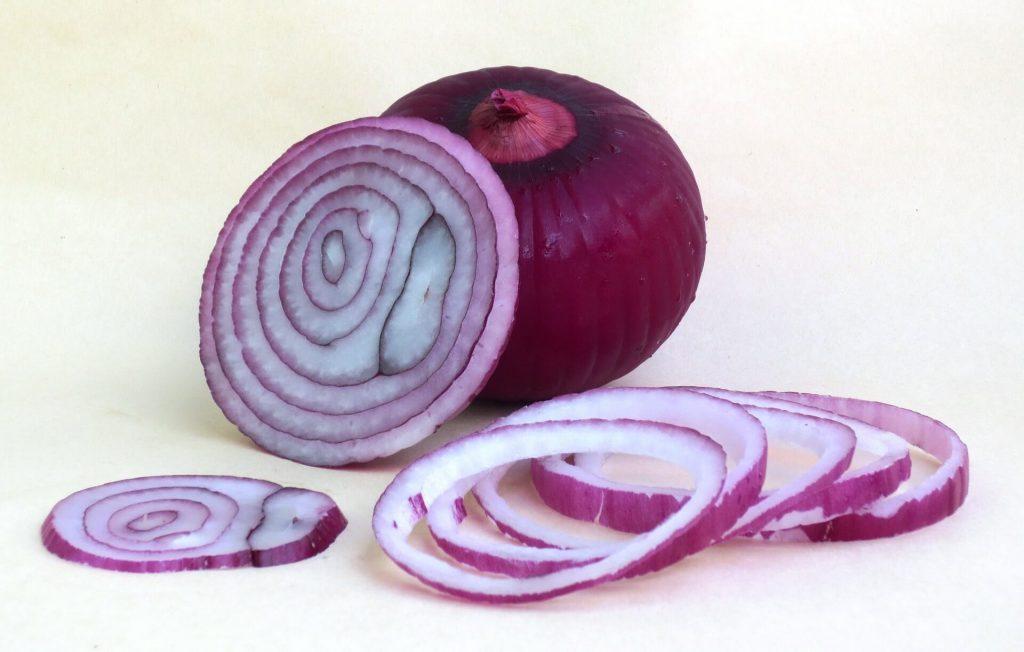 Cebolla Roja en rodajas