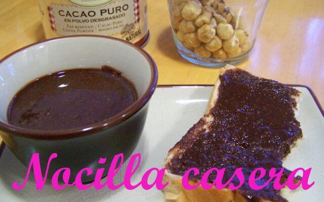 ¿Cómo hacer una Crema de Chocolate y Avellanas?