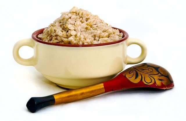 Gachas de avena o porridge.
