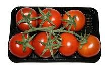 Bandeja de tomates