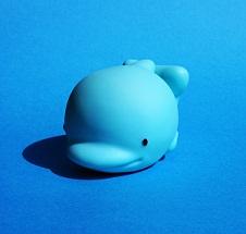 delfin para baño
