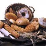 Conjunto de pan artesanal