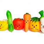 Las frutas y verduras en la alimentación infantil.