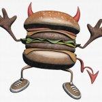hamburguesa maléfica