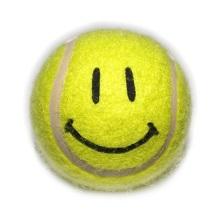 pelota tenis feliz
