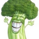 Brócoli con salsa de manzana.