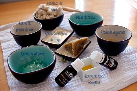 ingredientes de la crema de cara nutrititva