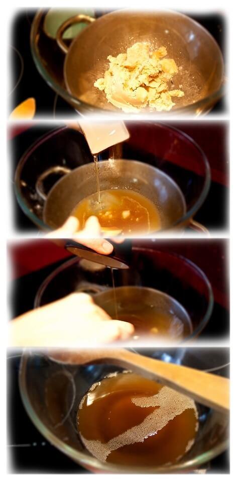 proceso de la crema