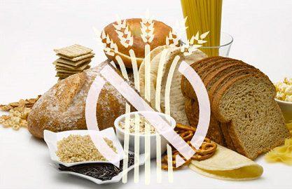 Foto de diferentes tipos de panes con el símbolo universal de sin gluten