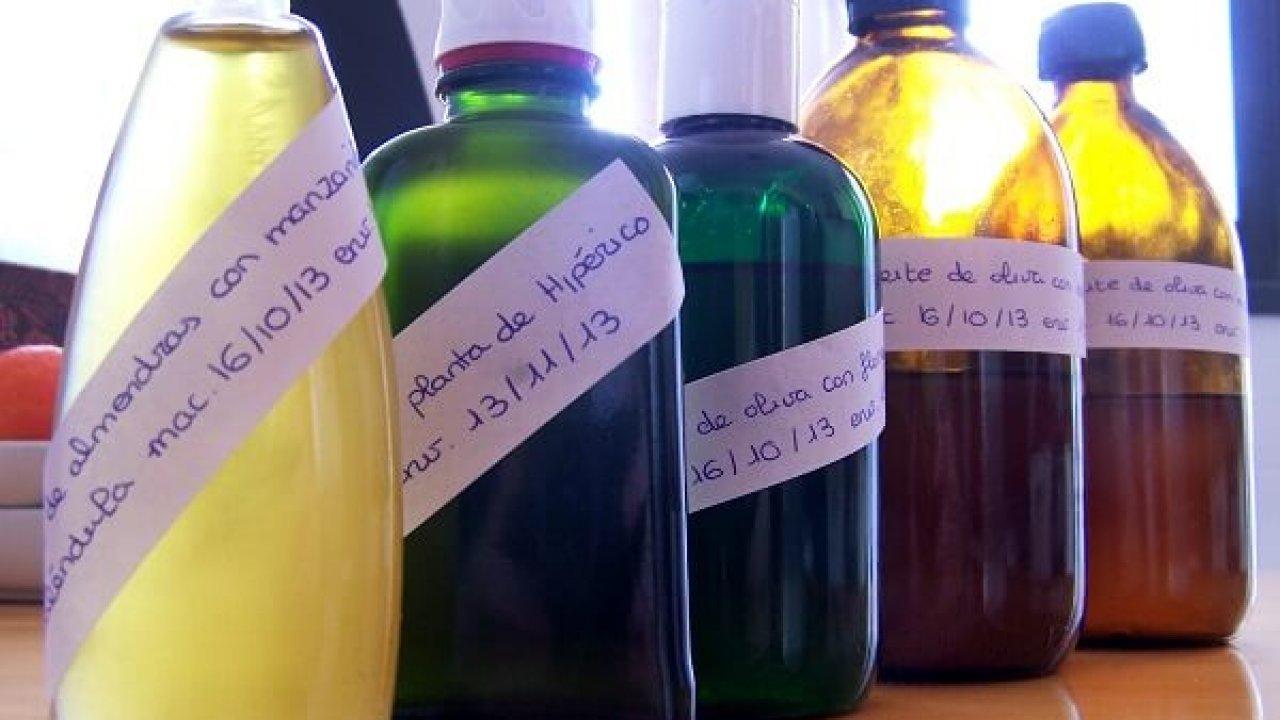 receta aceite de manzanilla