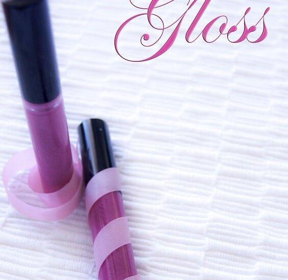 dos gloss de diferentes colores