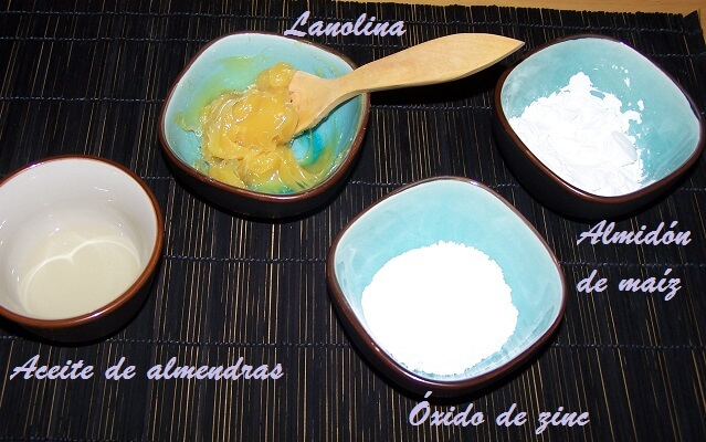 Pasta al agua casera para el culito del bebé