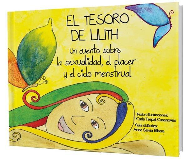 portada del libro el tesoro de lilith