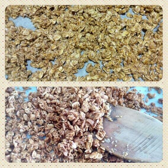 granola casera elaboracion