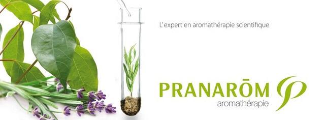 logo pranarom y plantas aromaticas