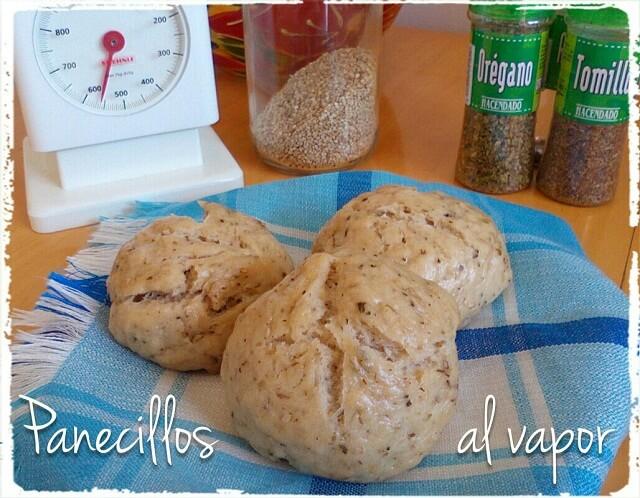 Pan al vapor sano y fácil de hacer