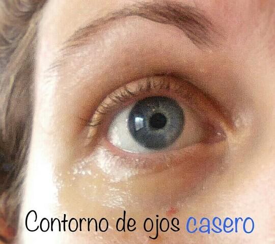 Contorno de ojos casero