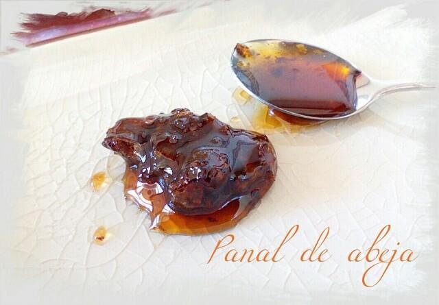 Panal de miel comestible