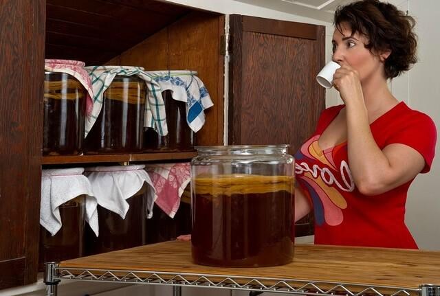 Té de Kombucha, beneficios y recetas