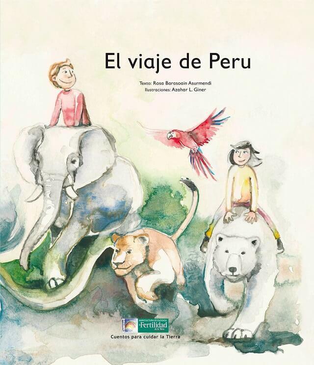 portada del cuento El viaje de Peru