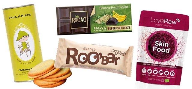 lote de snacks saludables