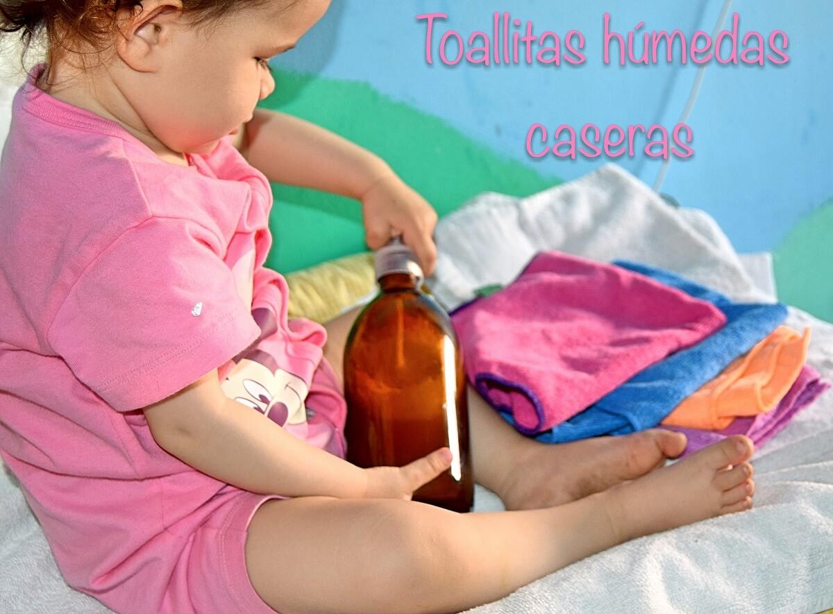 Toallitas húmedas caseras para nuestro bebé