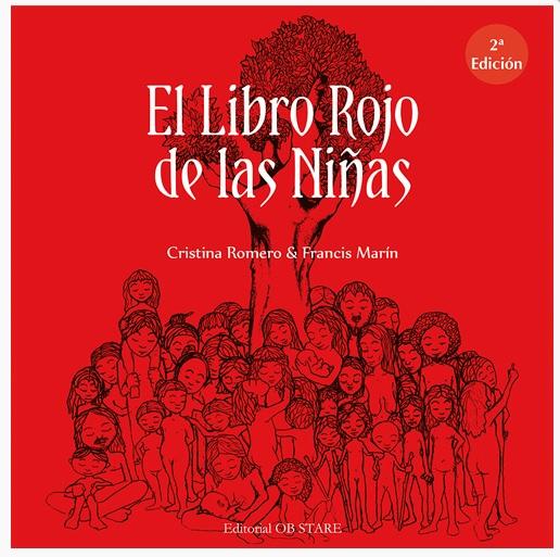 la portada de el libro rojo de las niñas