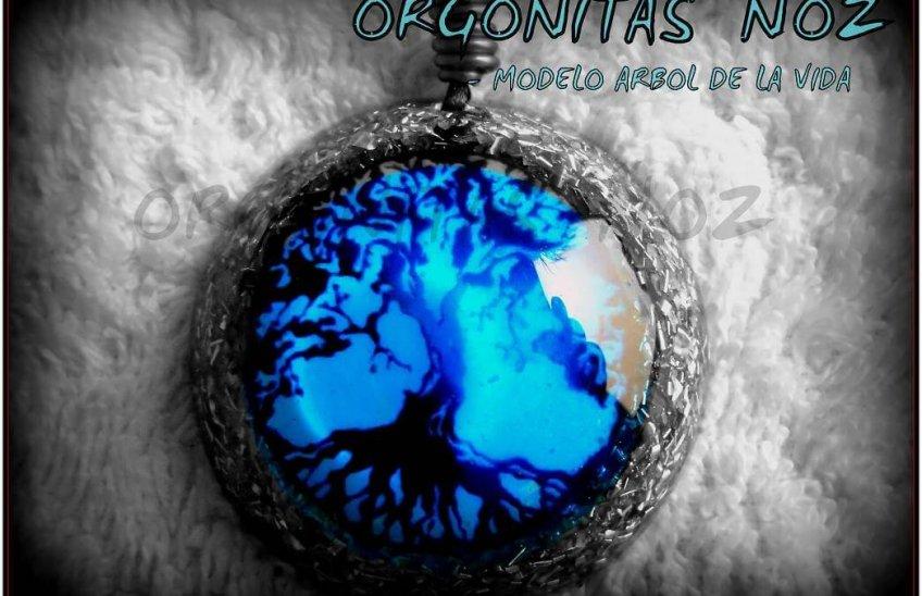 colgante de orgonita árbol de la vida