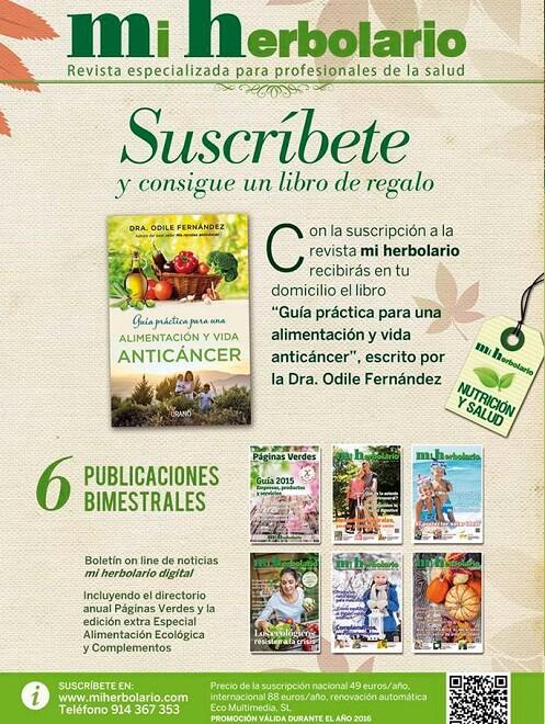 Entrevista a la revista Mi herbolario