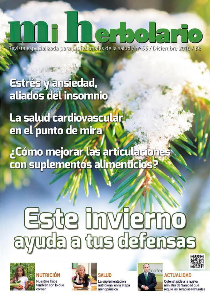 portada de la revista mi herbolario