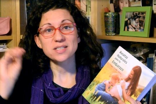 Recetas naturales para tu embarazo de Virginia Ceballos Alonso