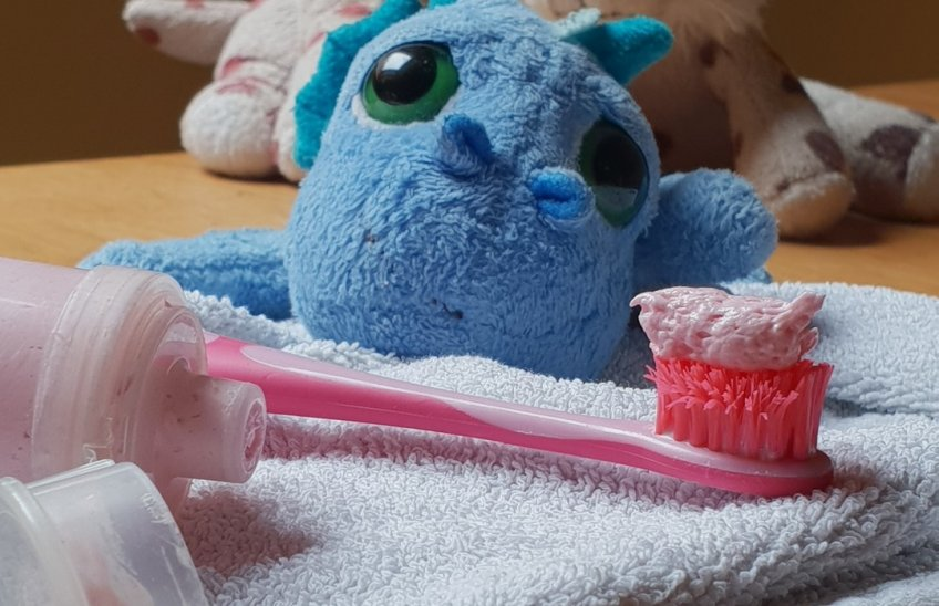 pasta de dientes para peques